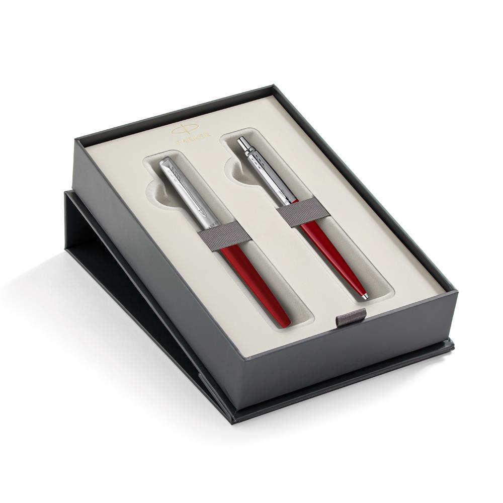 Σετ Parker Jotter Originals Red CT στυλό & μαρκαδοράκι