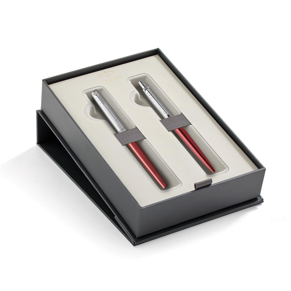 Σετ Parker Jotter Core Kensington Red CT στυλό & πένα