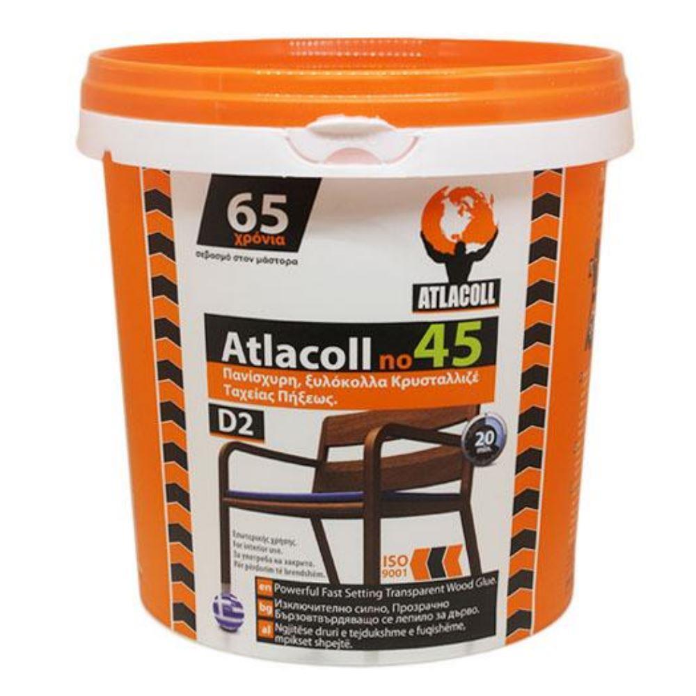 Κόλλα Ατλακόλ κρυσταλλιζέ Νο45 1000 gr γενικής χρήσεως