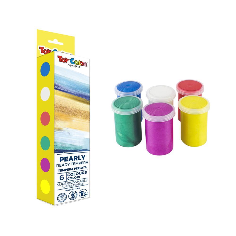 Σετ τέμπερες Toy Color περλέ 6 x25 ml