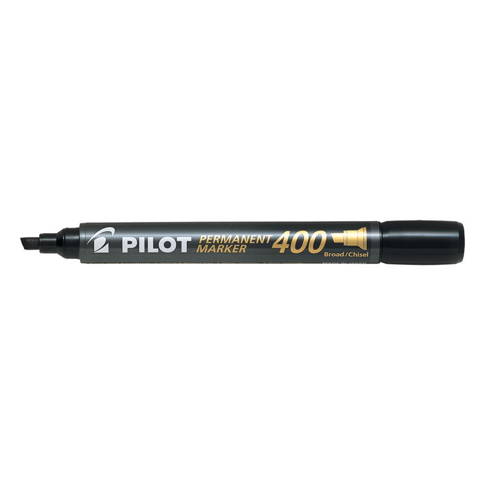Μαρκαδόρος ανεξίτηλος Pilot SCA-400 μαύρος πλακέ