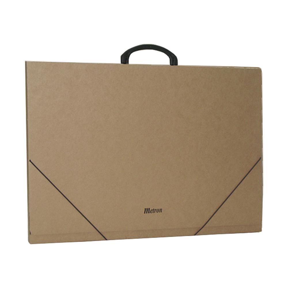 Τσάντα σχεδίου χάρτινη Metron 37x52x2 cm