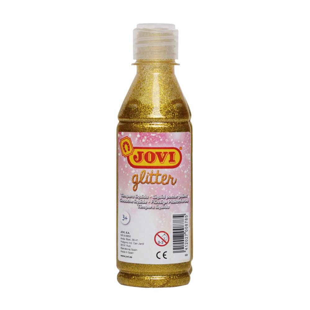 Τέμπερα Jovi 250ml glitter gold