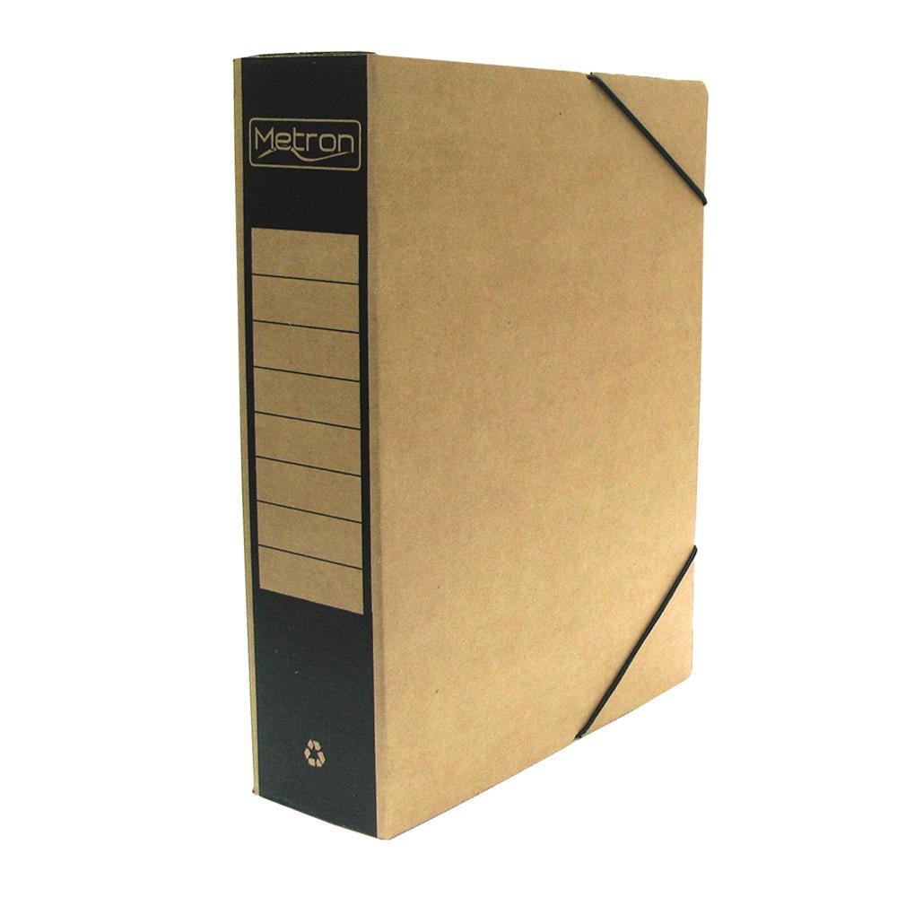 Κουτί λάστιχο οικολογικό Metron 25x33x8cm μαύρο