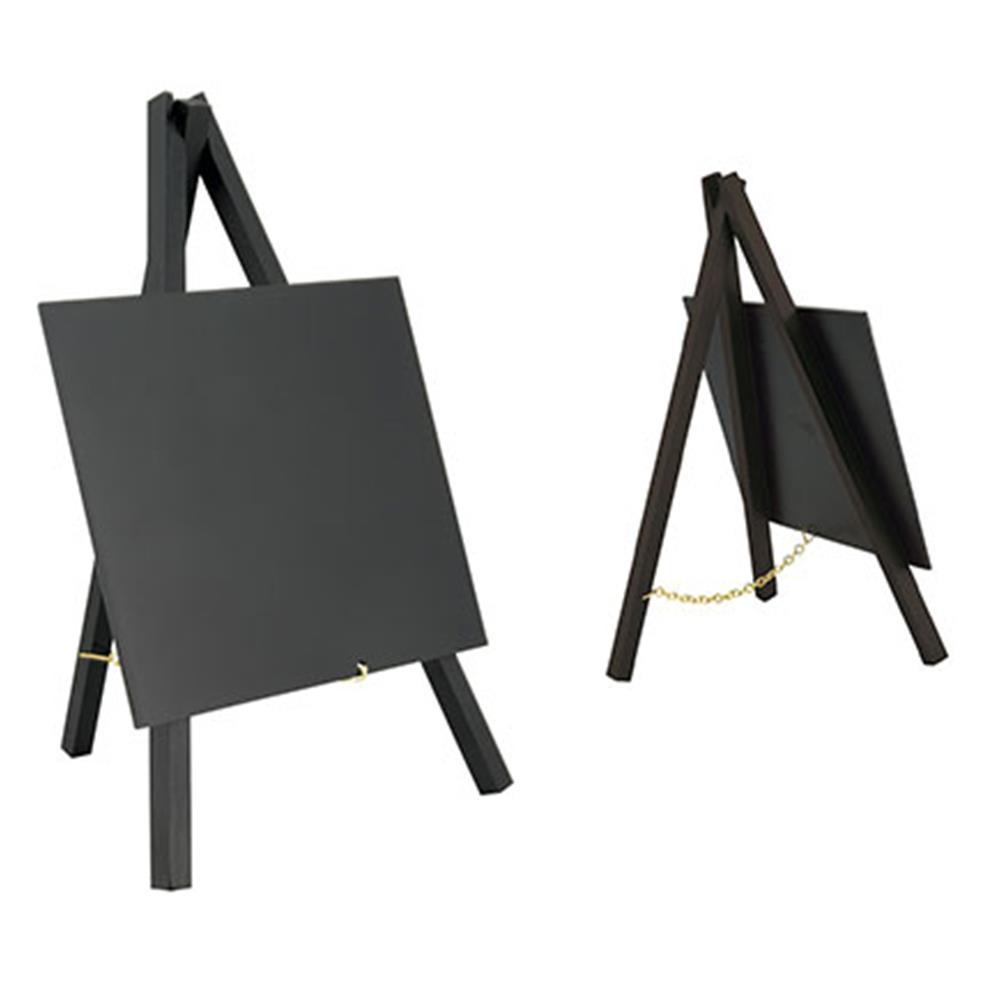 Πίνακες κιμωλίας Securit 24x15 cm με βάσεις σετ 3 τεμ.