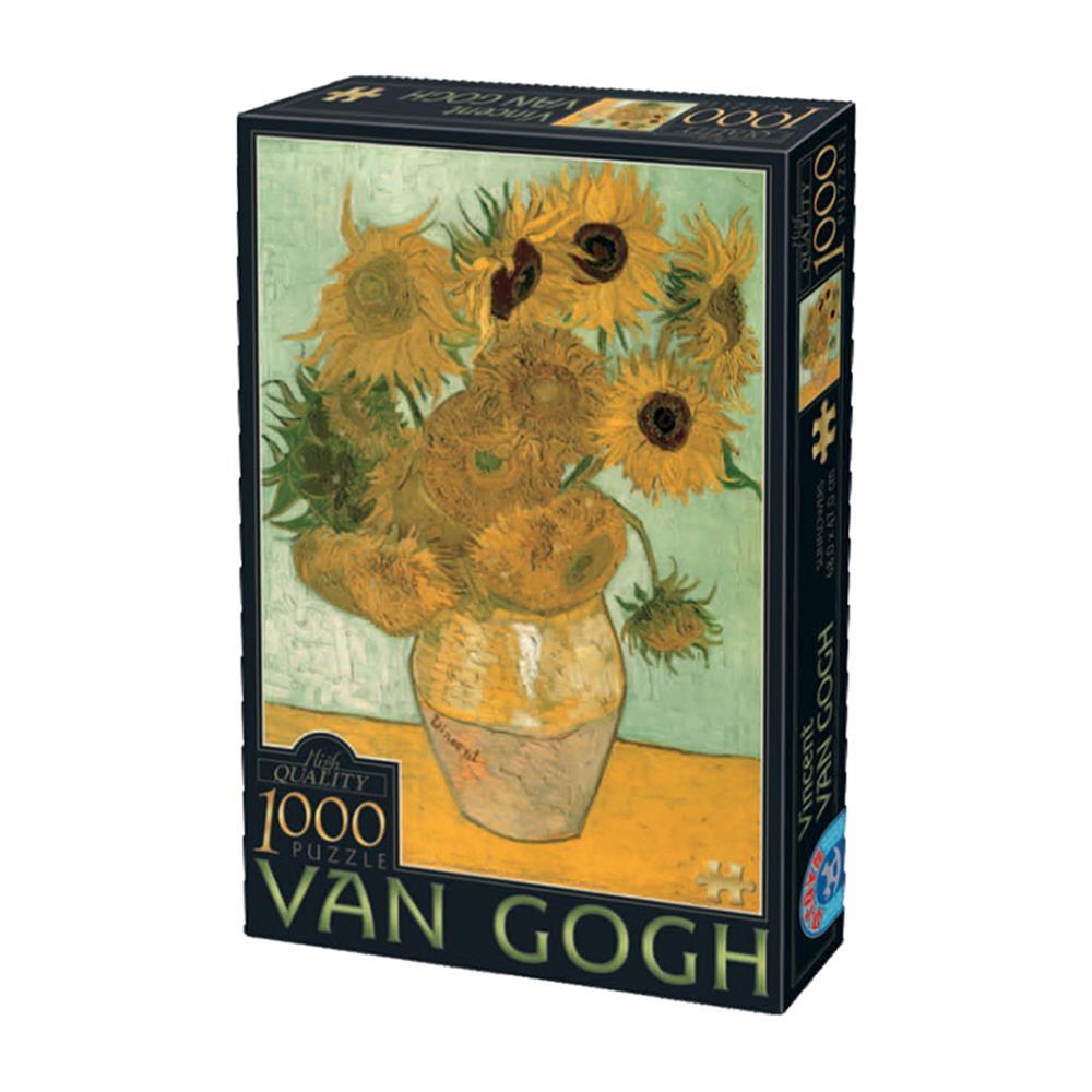 Παζλ D-Toys Van Gogh Sunflowers 68x47cm 1000 κομ.
