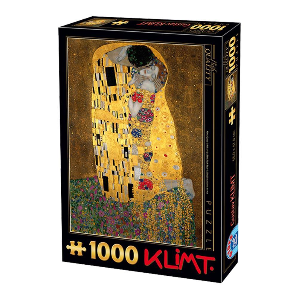 Παζλ D-Toys Klimt The Kiss 68x47cm 1000 κομ.