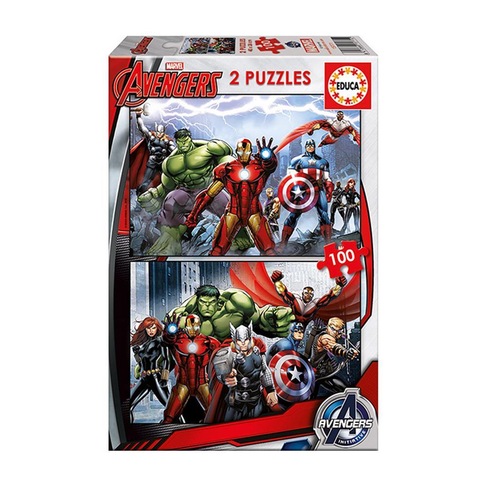 Παζλ Educa Avengers 200 κομ.