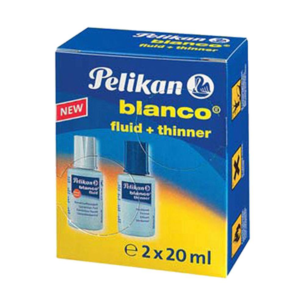 Διορθωτικό Pelikan blanco διπλό 2x20 ml