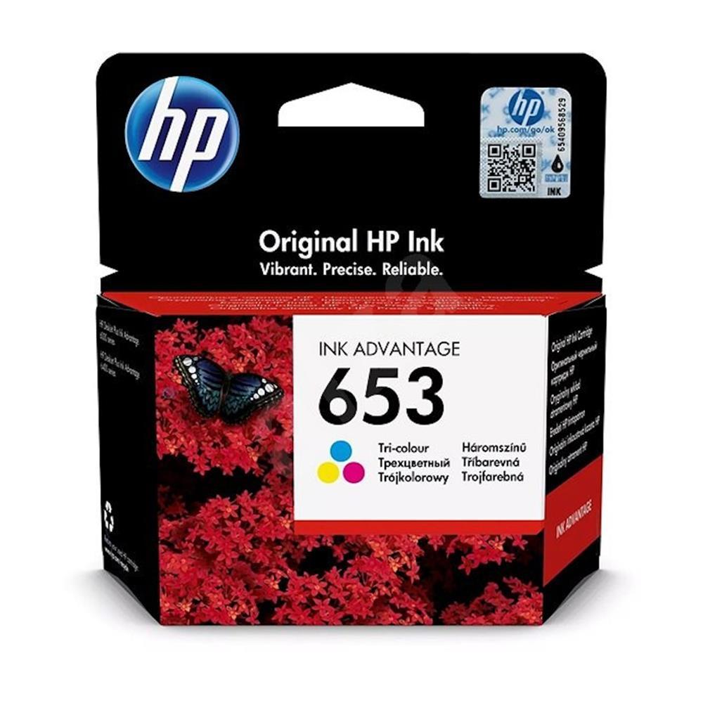 Μελάνι Hp 653 colour