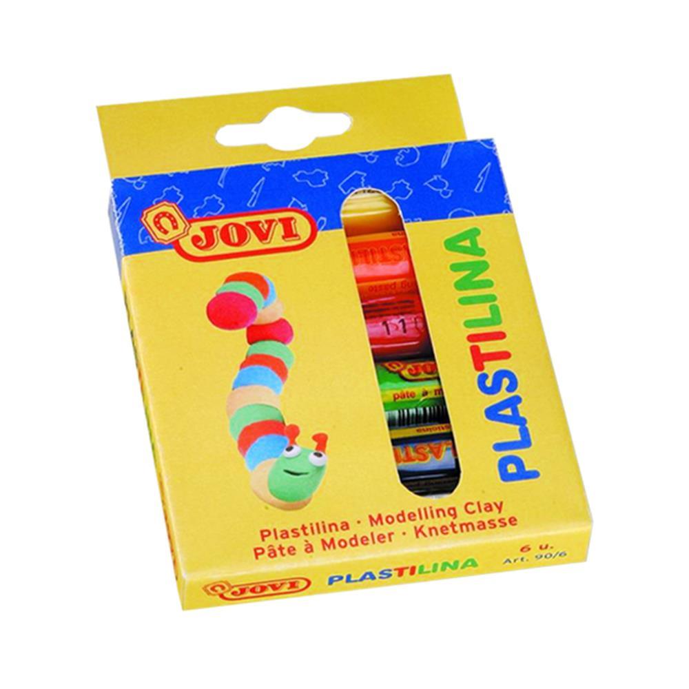 Πλαστελίνη Jovi κουτί 6 τεμάχια x25gr