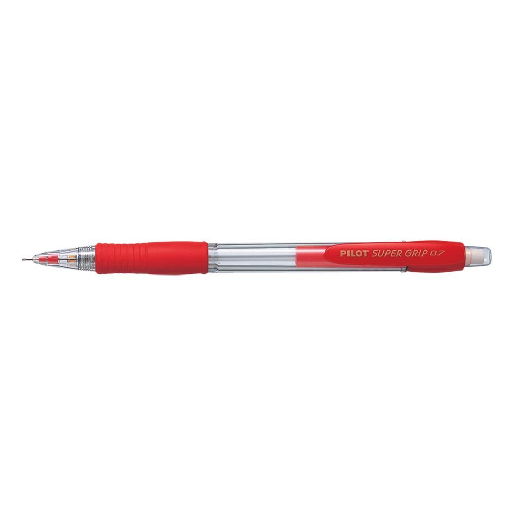 Μηχανικό μολύβι Pilot 0,7 mm Super Grip κόκκινο