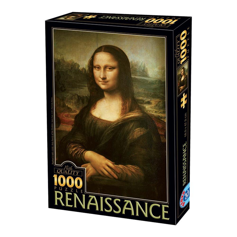 Παζλ D-Toys Da Vinci Mona Lisa 68x47cm 1000 κομ.