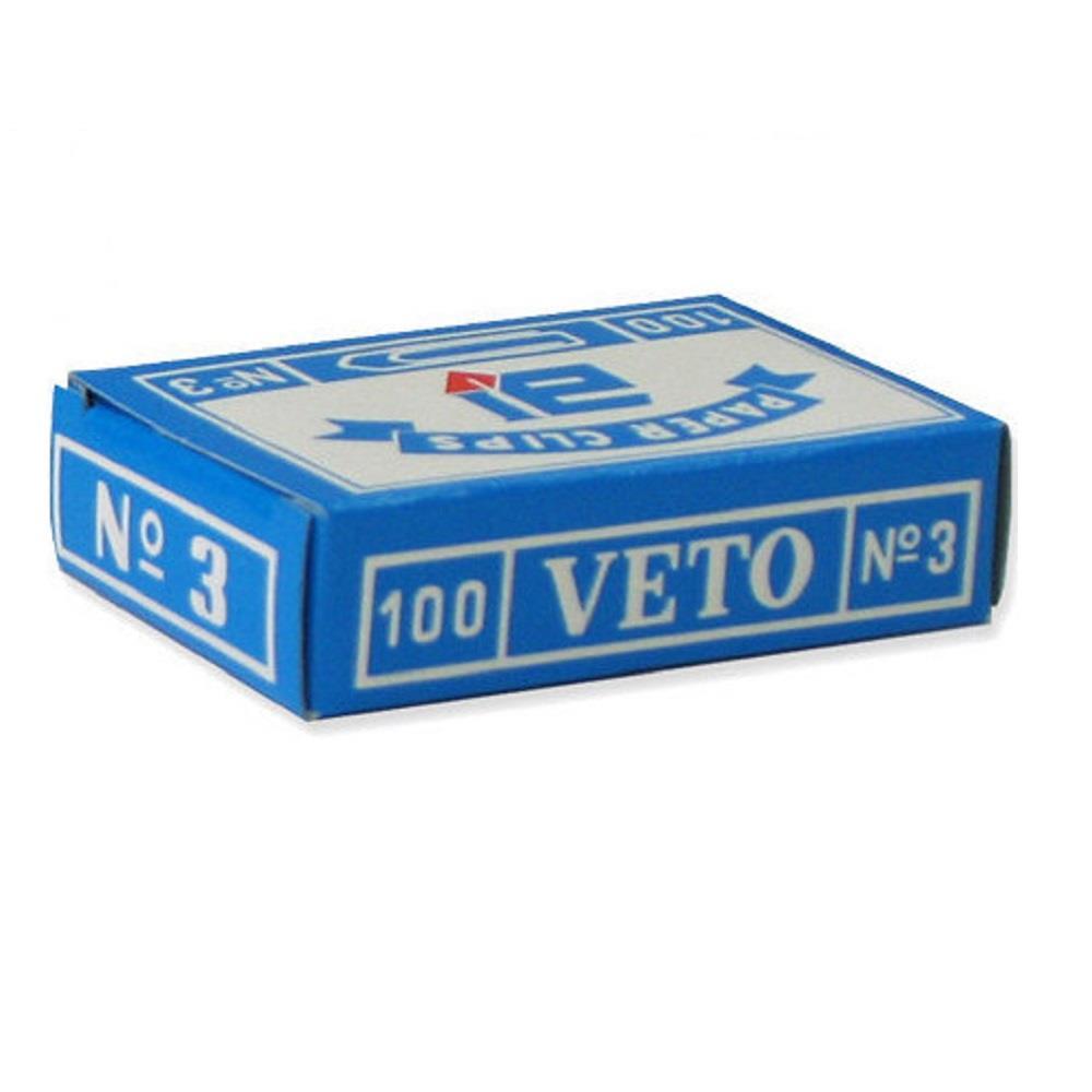 Συνδετήρες Veto Νο 3 μεταλλικοί