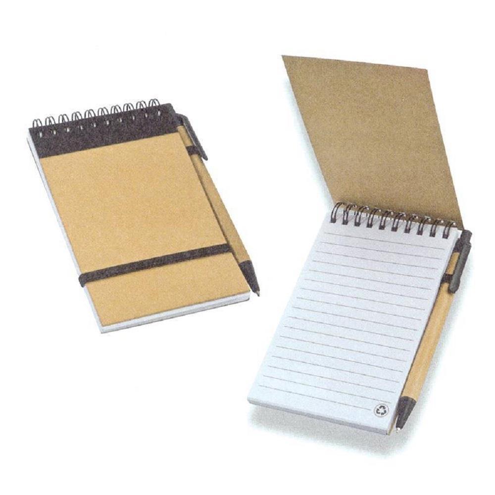 Σημειωματάριο Next 10x15 σπιράλ με στυλό