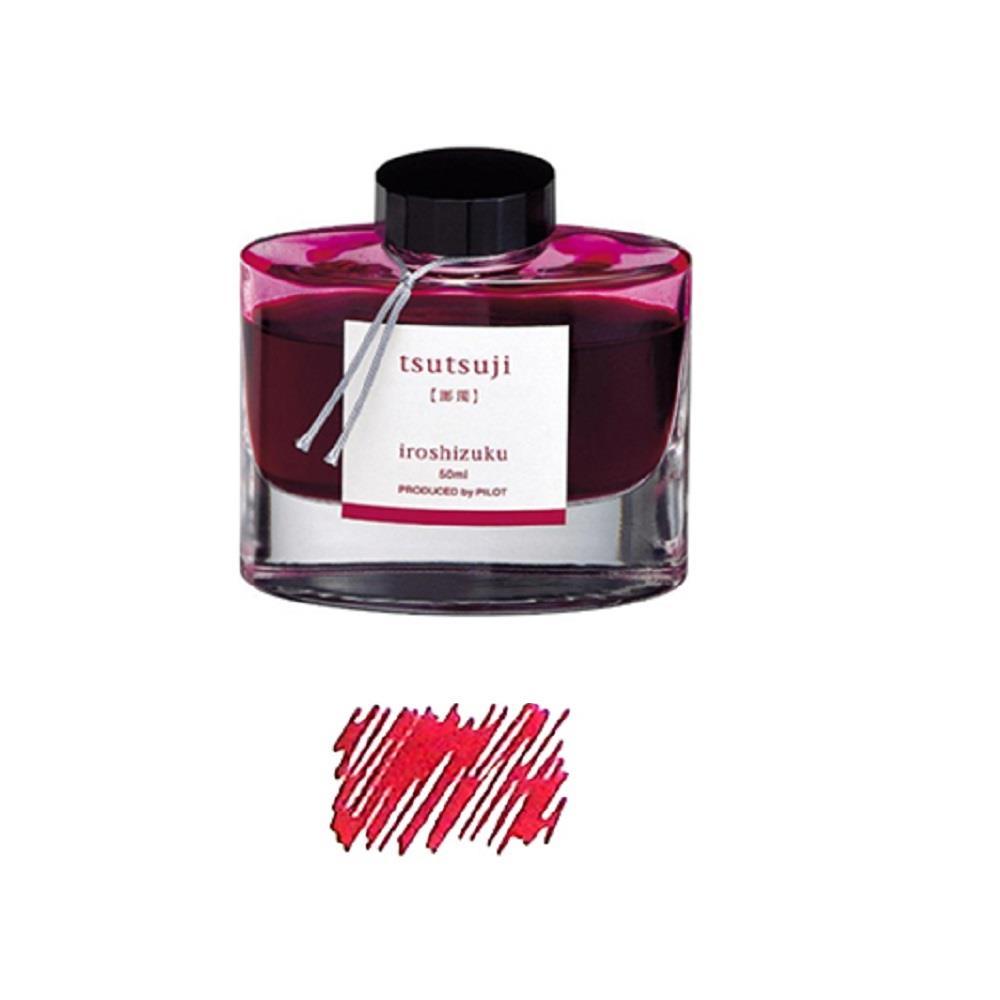 Μελάνι πένας Pilot Iroshizuku 50 ml κόκκινο