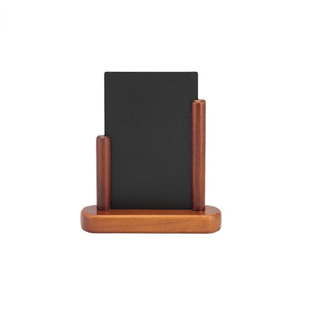 Πίνακας υγρής κιμωλίας Securit 17,5x15,5 cm με ξύλινη βάση