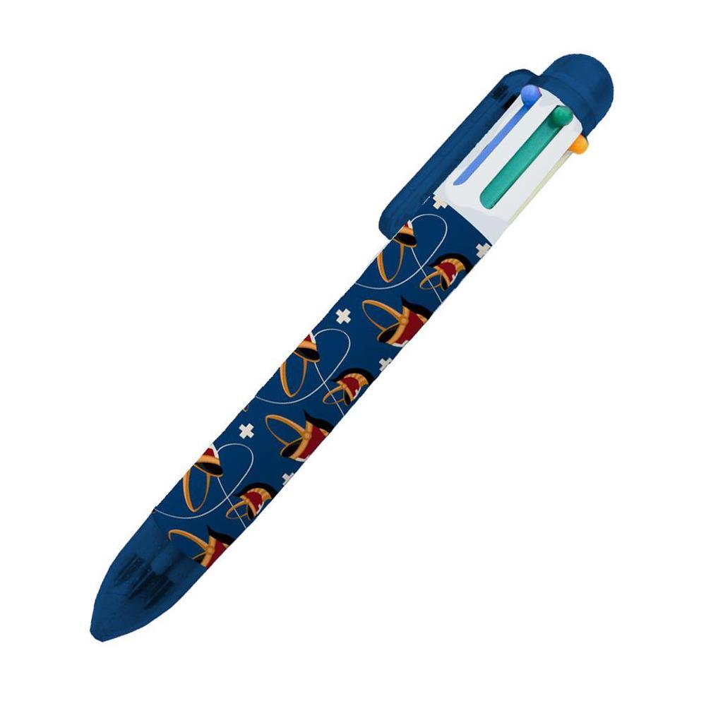 Στυλό Ελλάδα 2021 6 χρώματα μπλε