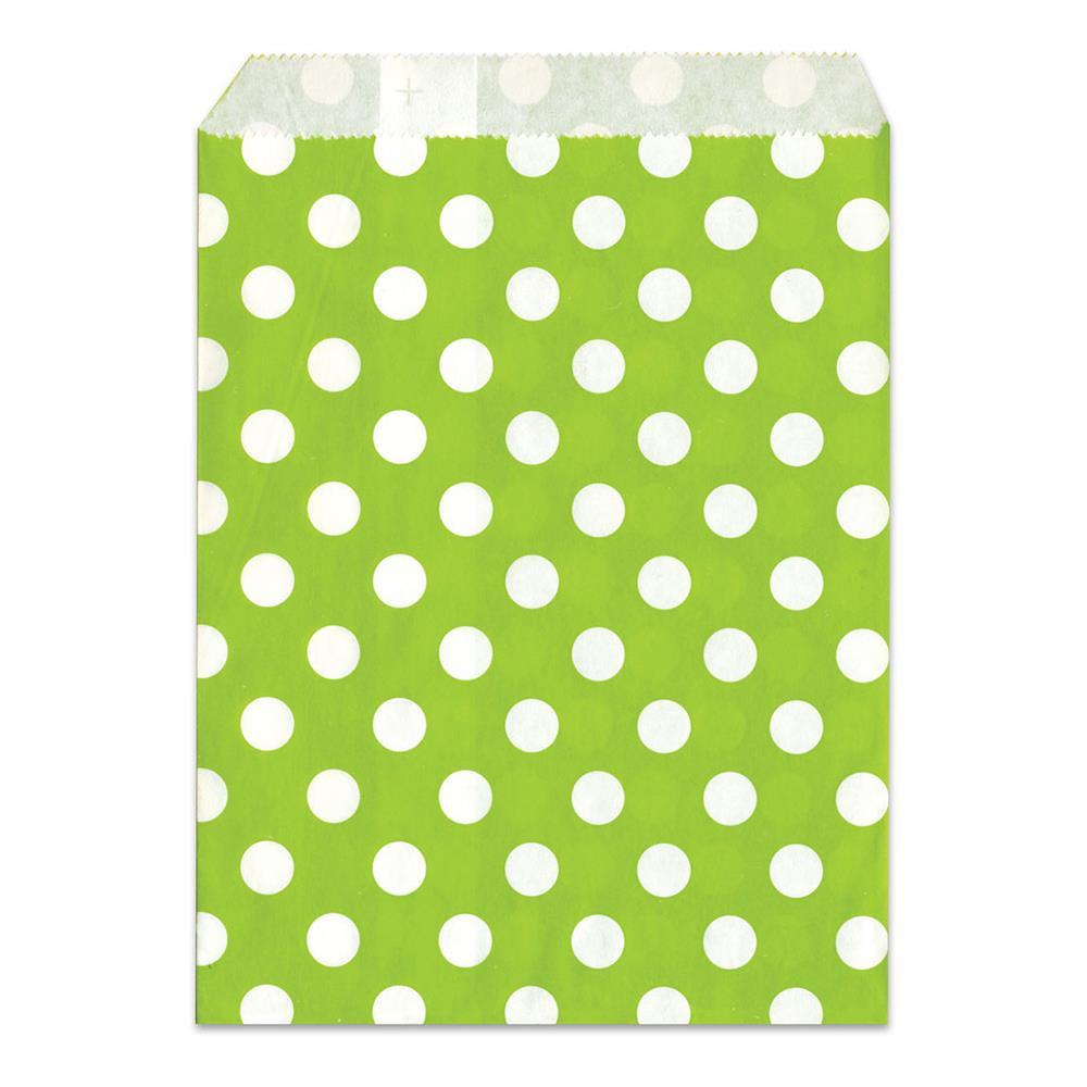 Σακουλάκι χάρτινο δώρου πράσινο πουά Meyco 34822