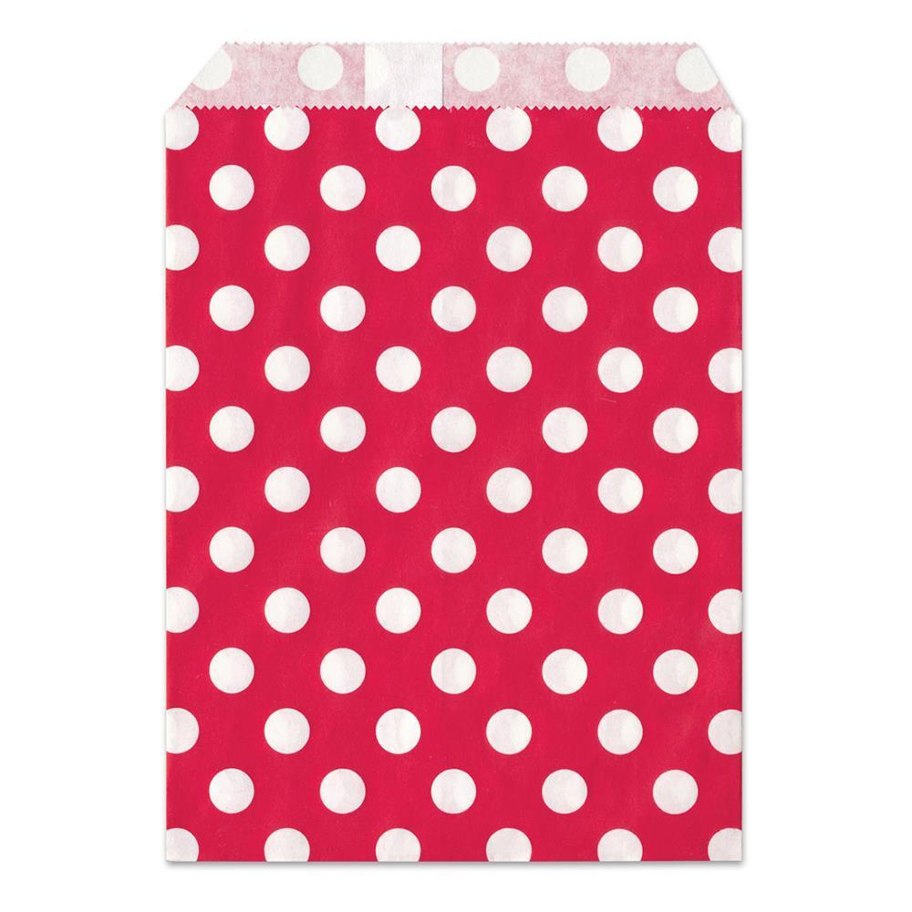 Σακουλάκι χάρτινο δώρου κόκκινο πουά Meyco 34821