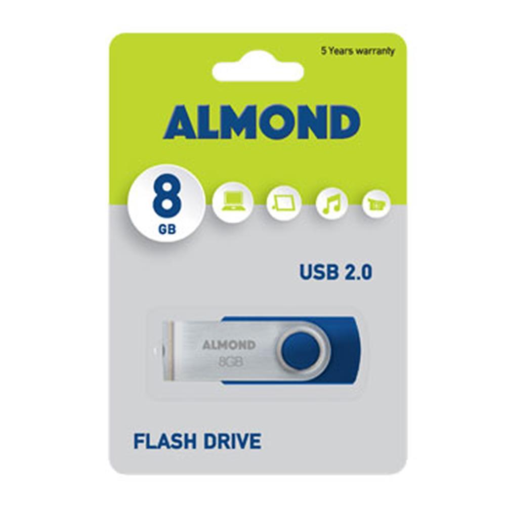 Usb Almond 8GB Twister μπλε