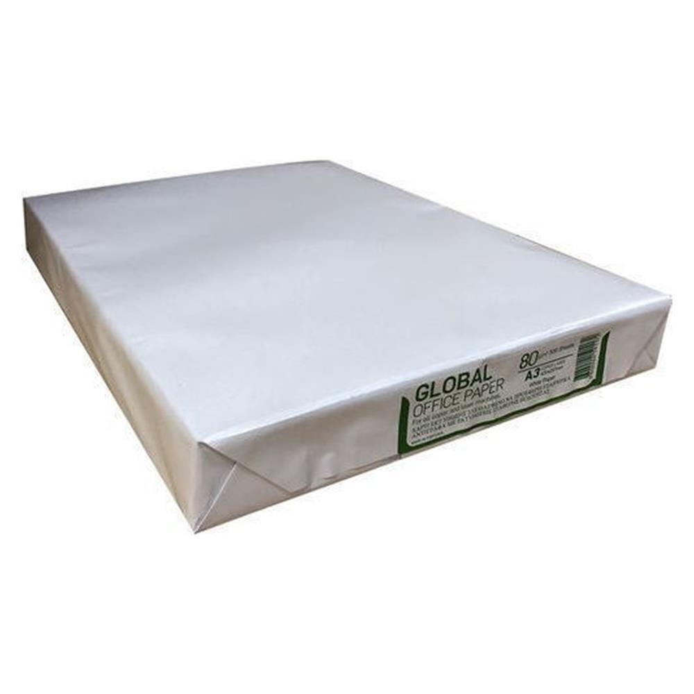 Χαρτί Α3 Global 80gr 500φ λευκό