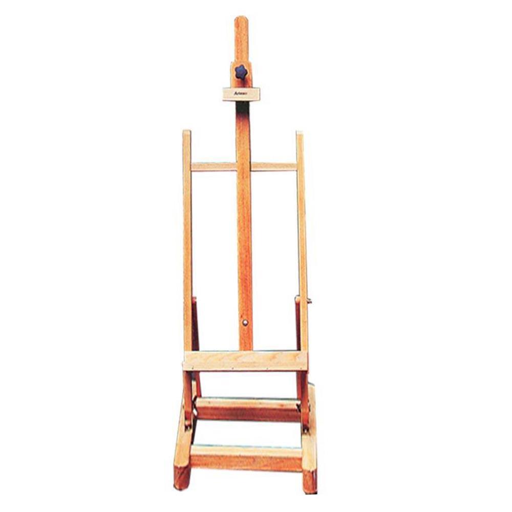 Καβαλέτο επιδάφιο Artmate ξύλινο 55x55x175 cm τετράγωνη βάση