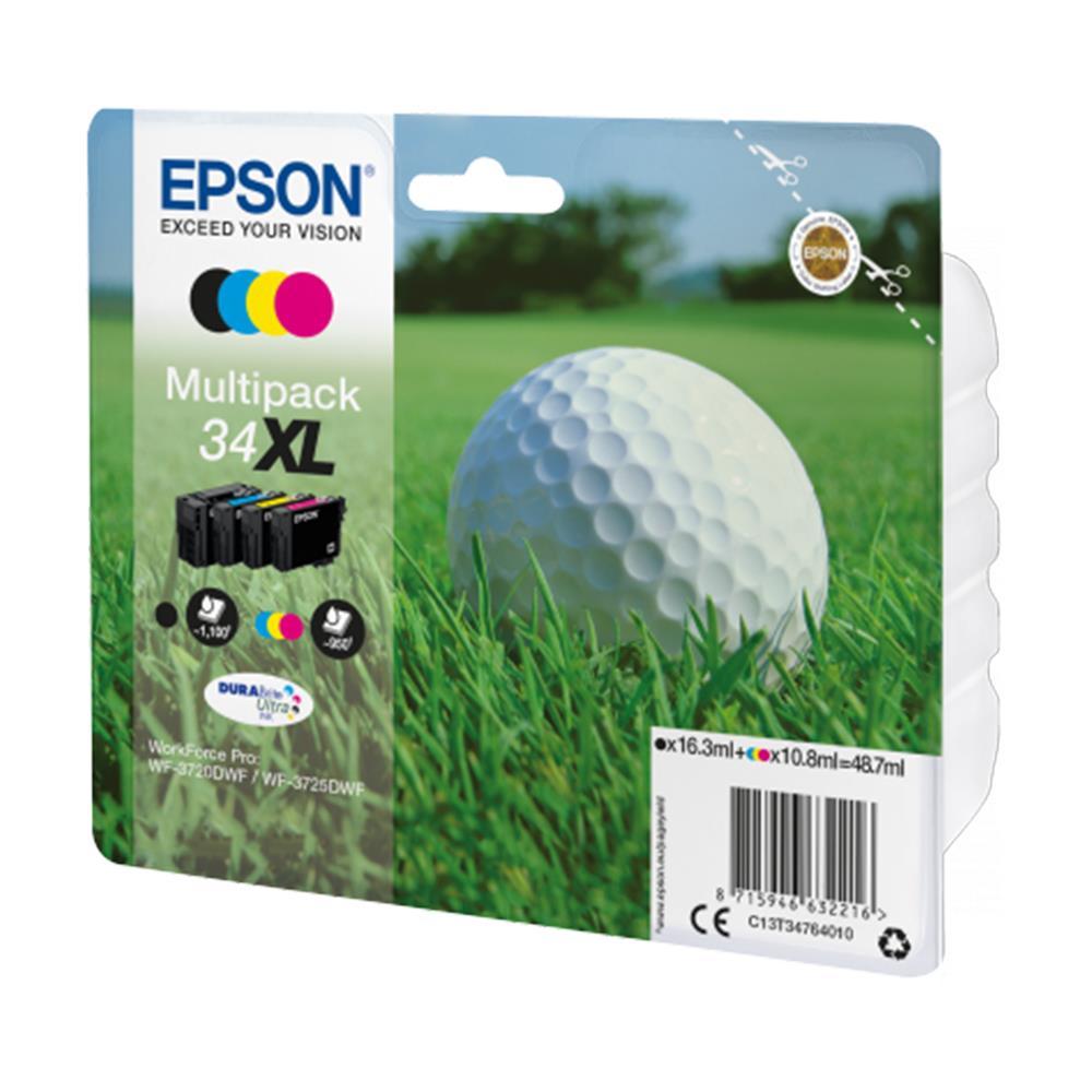 Μελάνια Epson 34XL multipack