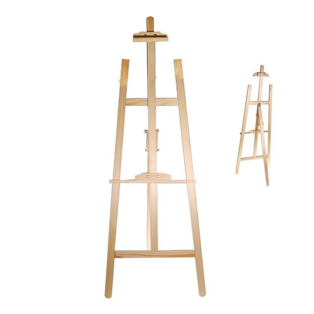 Καβαλέτο επιδάφιο Next ξύλινο 55x145 cm