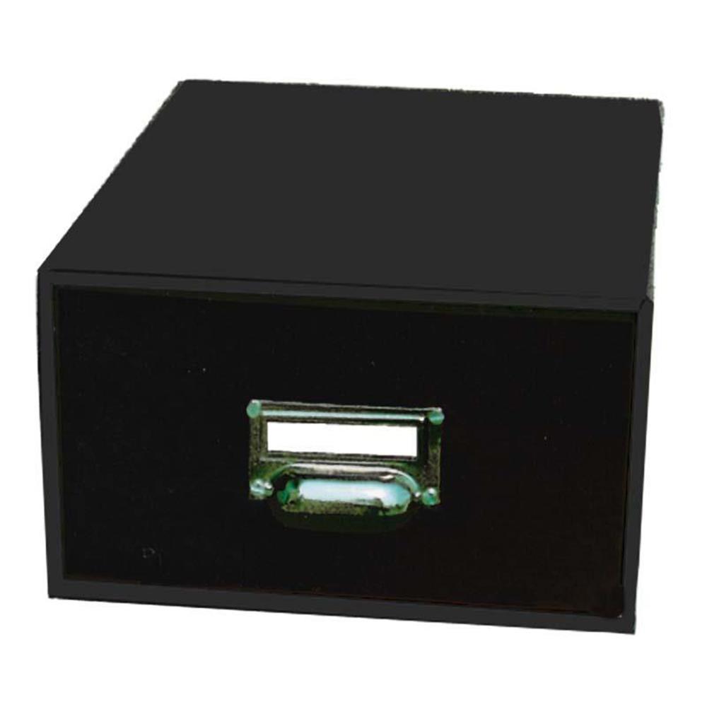 Κουτί αποθήκευσης Next classic 14x23x30 cm με λαβή μαύρο