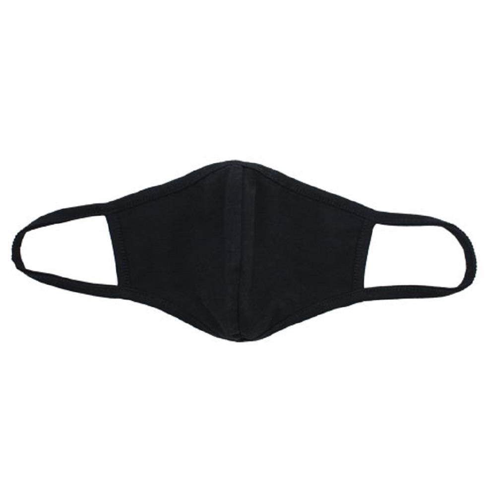 Μάσκα υφασμάτινη πολλαπλής χρήσης μαύρη