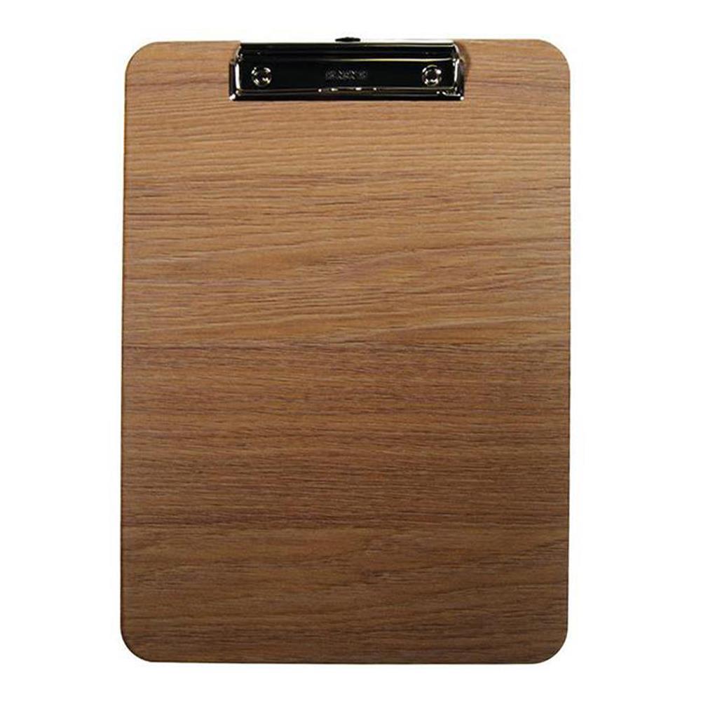 Ντοσιέ πιάστρα Α4 μονό ξύλινο δρυς