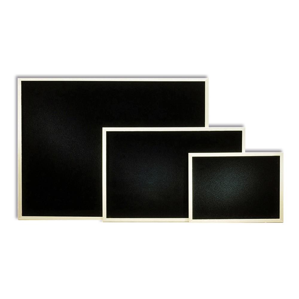 Πίνακας κιμωλίας 60x90 cm μαύρος