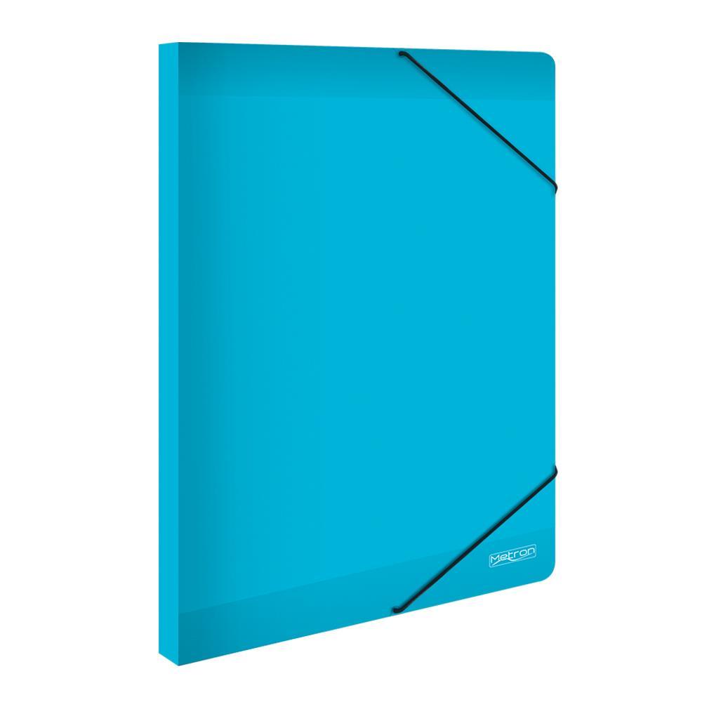 Κουτί λάστιχο Metron 25x35x3cm γαλάζιο