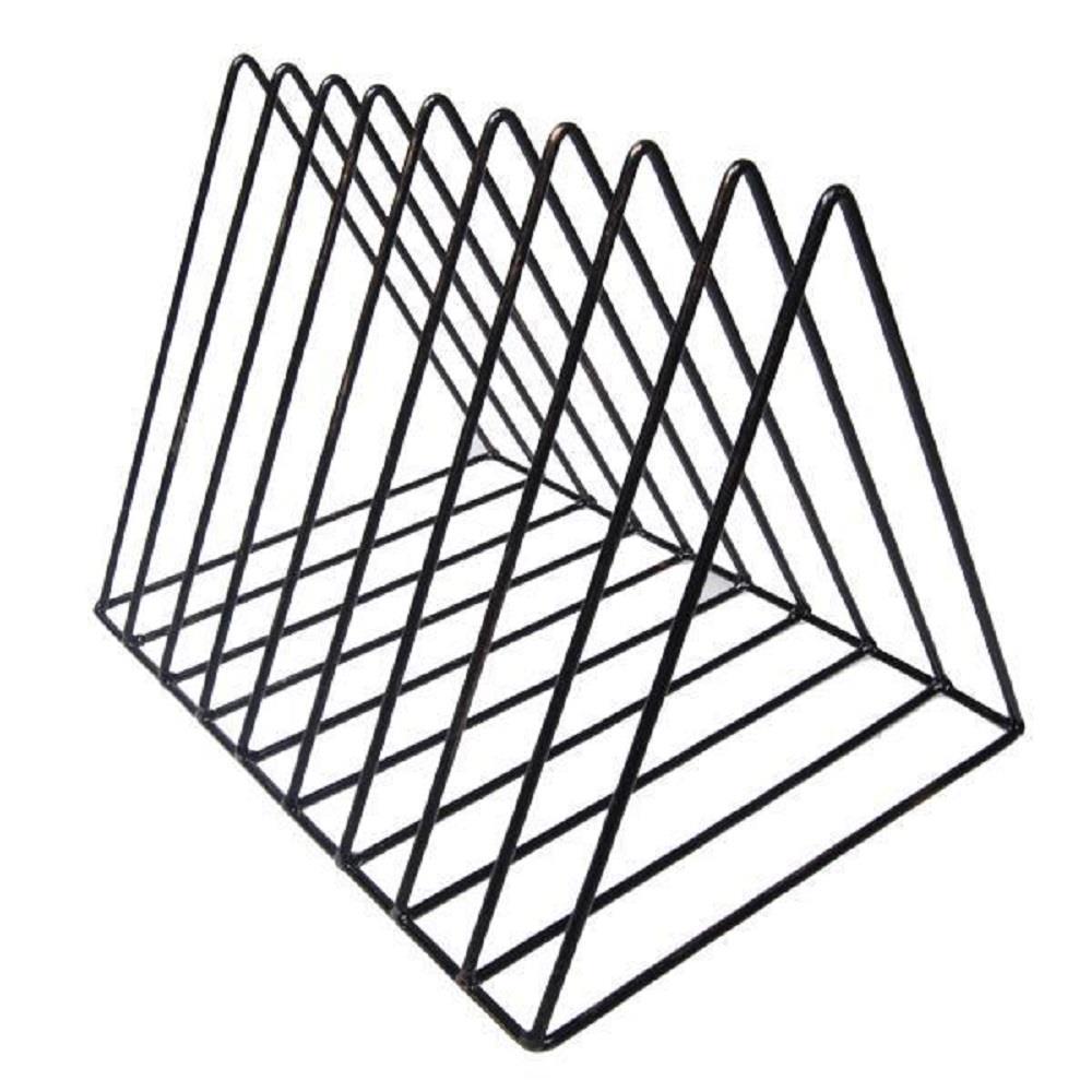 Φακελοστάτης μεταλλικός 16x25x20 cm με μπρονζέ λεπτομέρειες