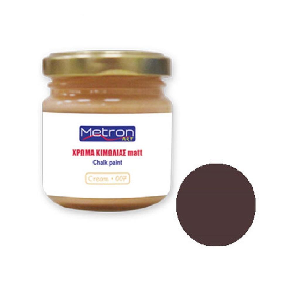 Χρώμα κιμωλίας Metron 110 ml walnut