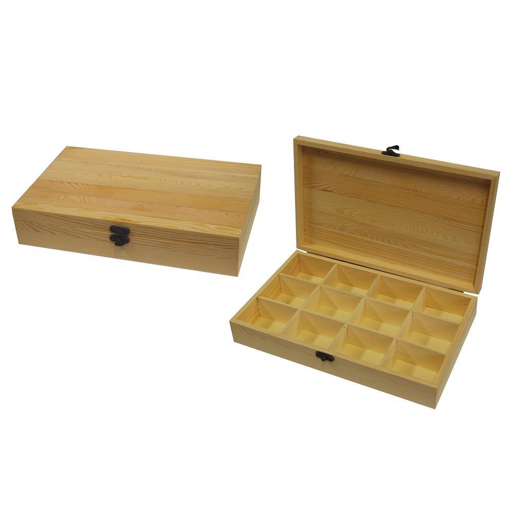 Κουτί ξύλινο Next 19x31x6 cm θήκες