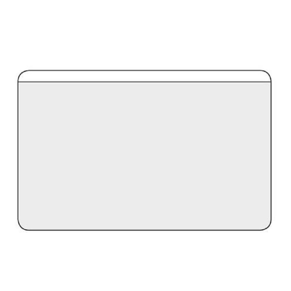 Θήκες διάφανες αυτοκόλλητες για κάρτες 9,5x6 cm 100 τεμ.