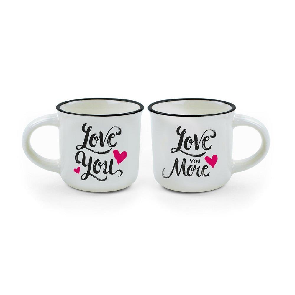 Κούπες espresso Legami Love You MM0005 2 τεμ.