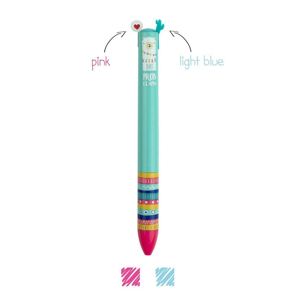 Στυλό Legami Llama 1,0 2 χρώματα VCLICK0022