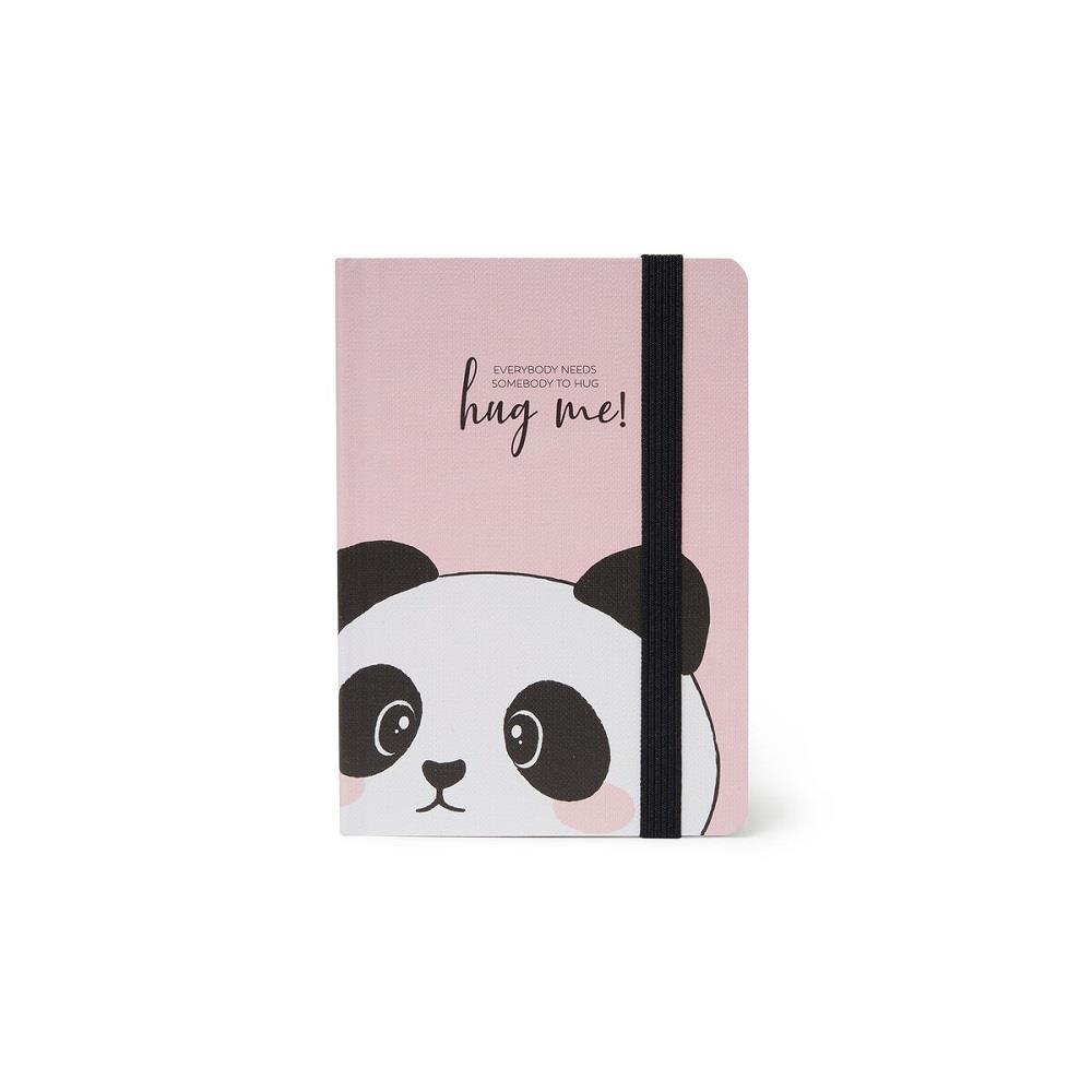 Σημειωματάριο Legami 9,5x13,5 panda VNOTP0080