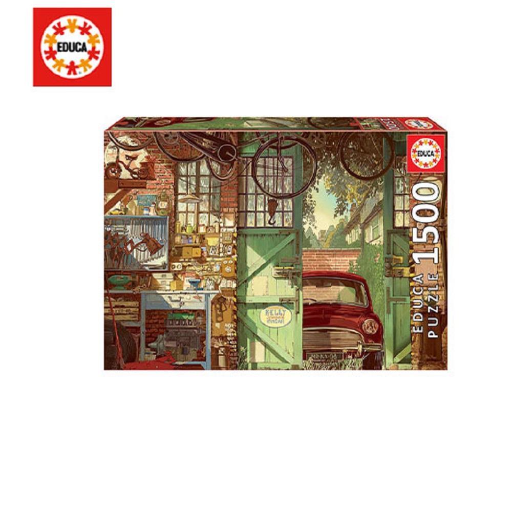 Παζλ Educa Old Garage Arly Jones 85x60 cm 1500 κομ.