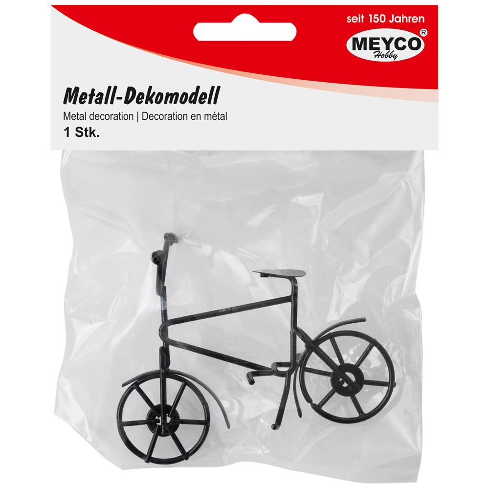 Ποδήλατο μεταλλικό μαύρο Meyco 81121
