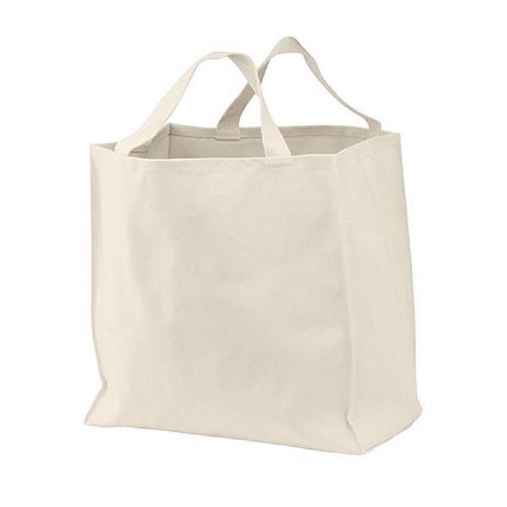 Τσάντα βαμβακερή γίγας μακριά χερούλια 35x40x23 cm