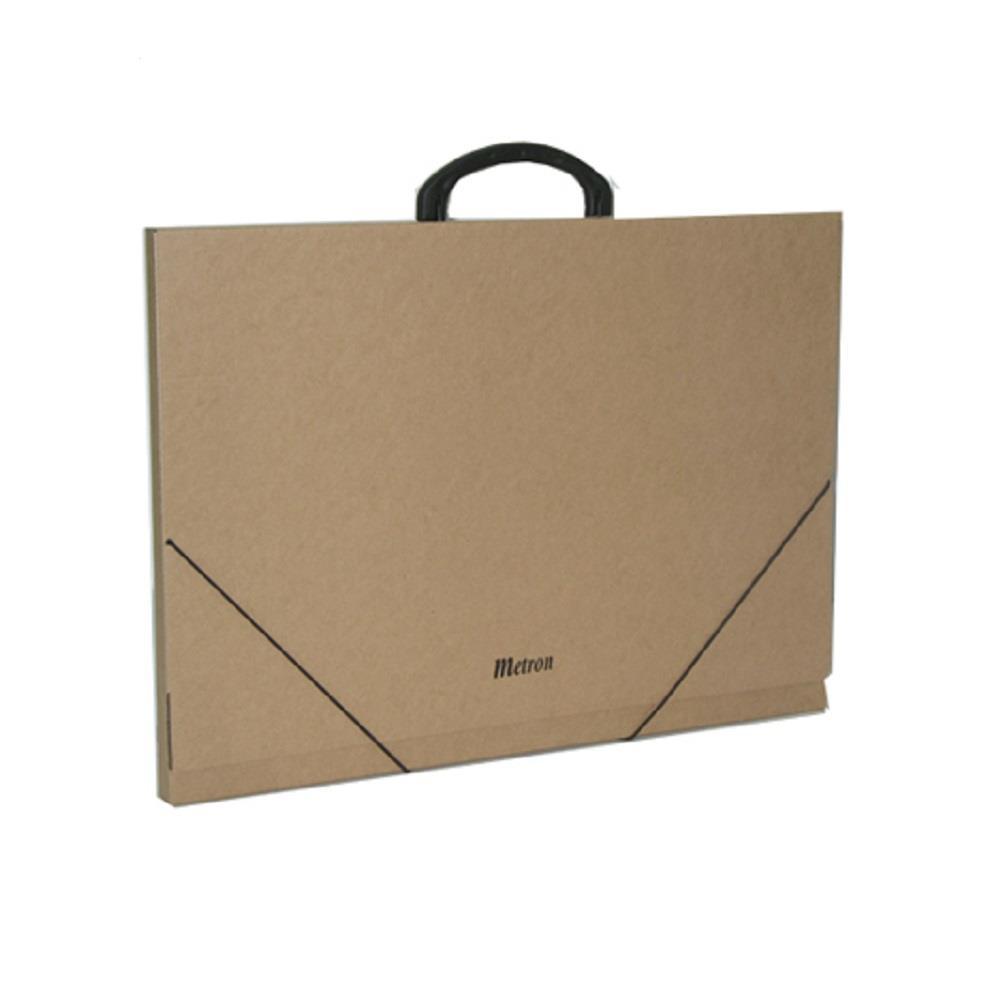 Τσάντα σχεδίου χάρτινη Metron 33x43x2 cm