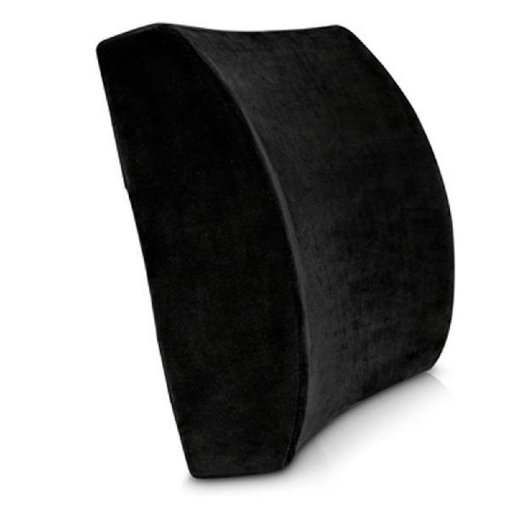 Μαξιλάρι ανατομικό στήριξης πλάτης μαύρο 29x33x10 cm