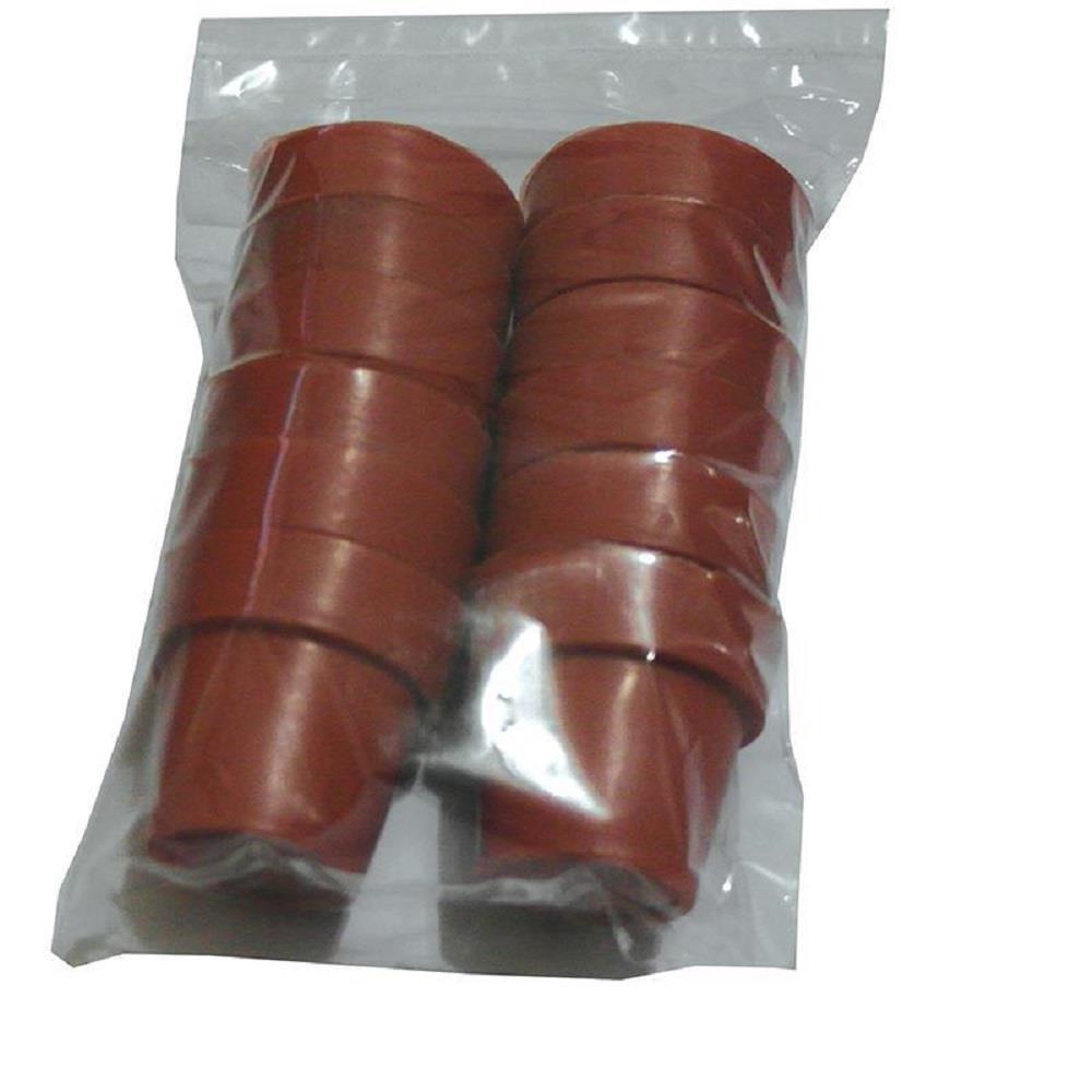 Γλαστράκια χειροτεχνίας 12 τεμ πλαστικά 4x3.5 cm