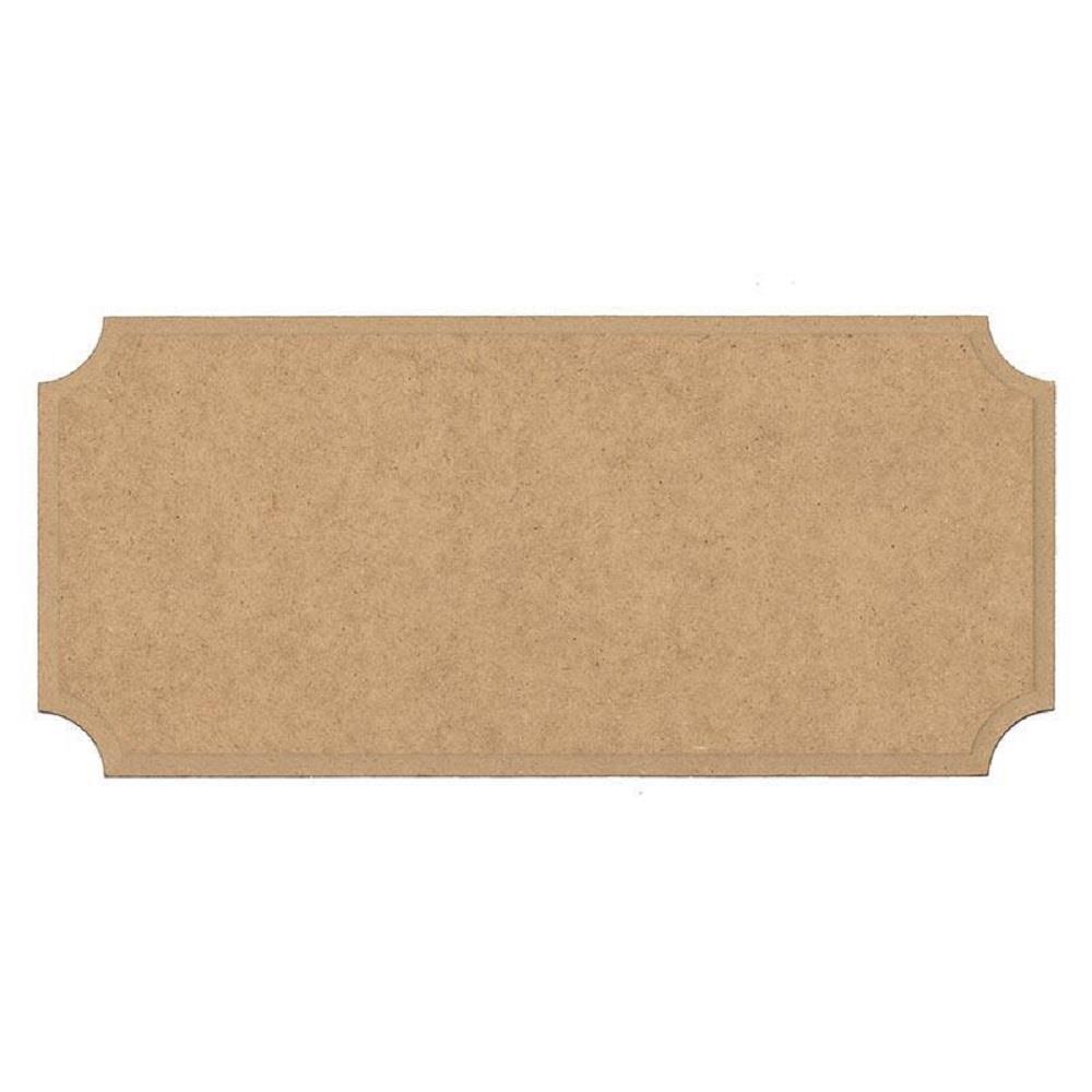 Ξύλινη πλάκα 23x10,5 cm με εσοχές