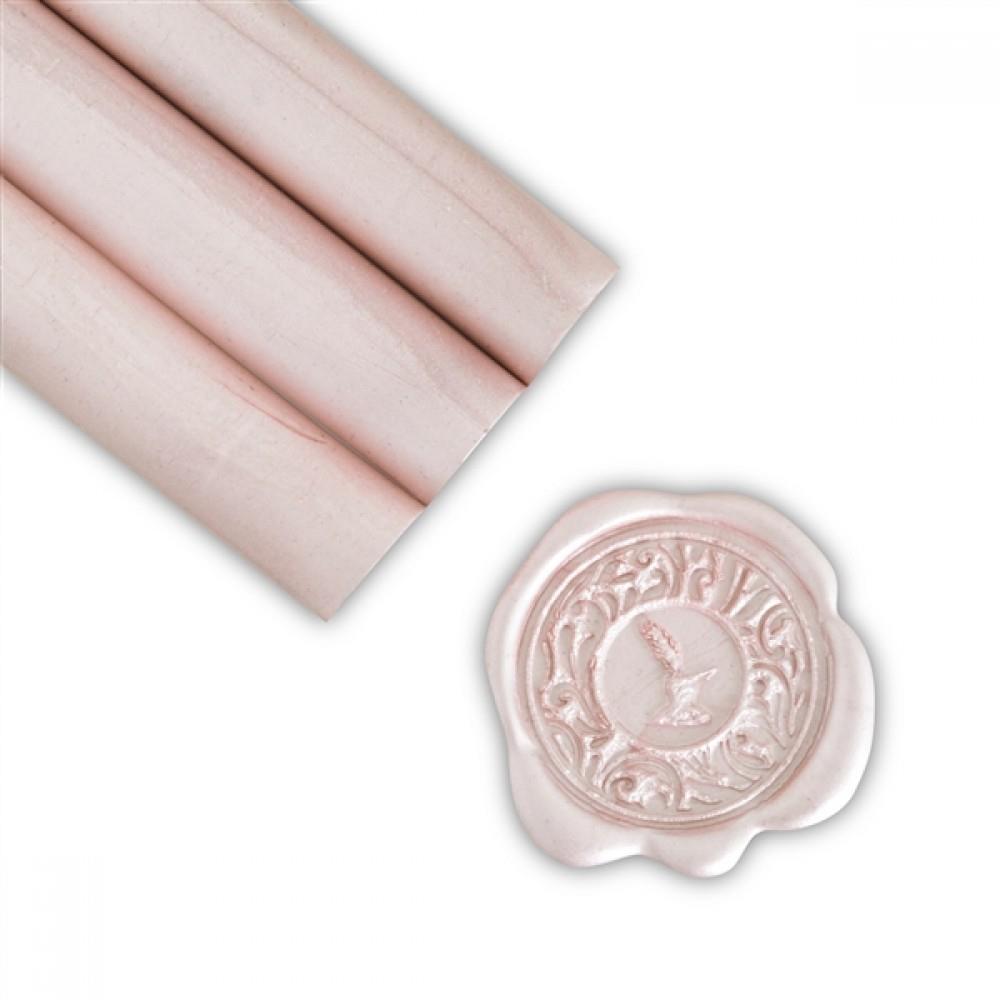 Βουλοκέρι στρογγυλό ροζ 1 τεμάχιο