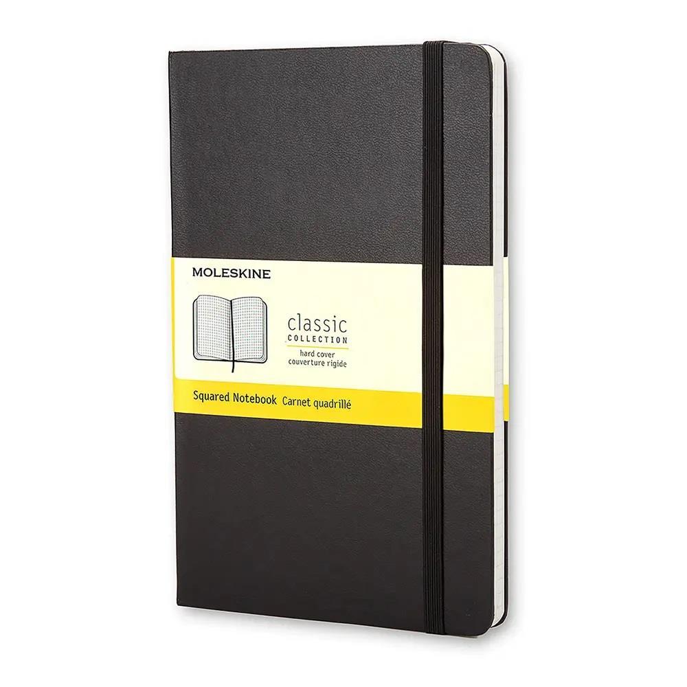 Σημειωματάριο Moleskine large black squared